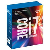 Процессор Intel Core i7 (LGA1151) i7-7700K, Box, 4x4,2 GHz (Turbo Boost 4,5 GHz), HD Graphic 630 (1150 MHz), L3 8Mb, Kaby Lake, 14 nm, TDP 91W