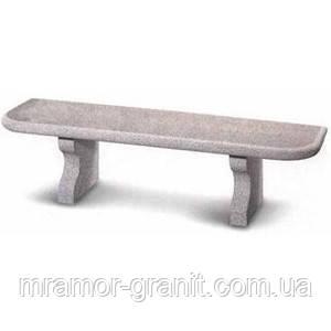 Скамейка из мрамора СЛЛМ - 80