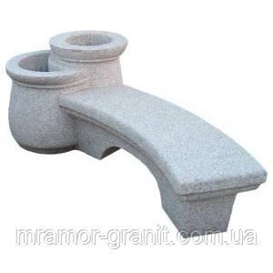 Скамейка с сосудами СЛЛМ - 81