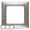 Рамка 3 поста алюминий модерн Legrand Valena 770343