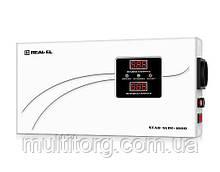 Стабилизатор напряжения REAL-EL STAB SLIM-1000 LCD (уценка)