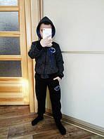 Детский утеплённый спортивный костюм на мальчика