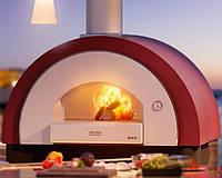 Печь на дровах Alfa Pizza Quick pro top