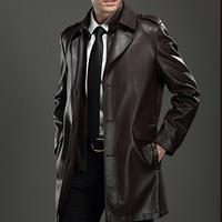 Мужская кожаная куртка. Модель 2022, фото 1