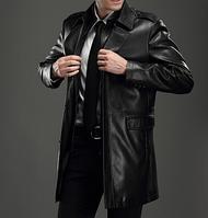 Мужская кожаная куртка. Модель 2022, фото 2