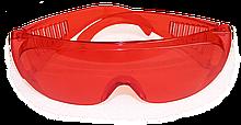Окуляри захисні червонi