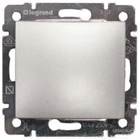 Механизм перекрестного 1-клавишного переключателя алюминий Legrand Valena 770107