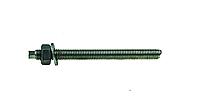 Анкерная шпилька VA-A 12х135 с гайкой, шайбой, насадкой под дрель, упак - 10 шт, Швеция, фото 1