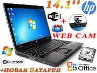 """Бюджетный Ноутбук HP Compaq 6910P 14.1"""" + Новая батарея!"""