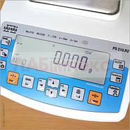 Весы лабораторные PS 210.R2, Radwag, Польша (3 кл.), фото 4