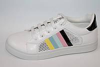 Подростковая спортивная обувь. Кроссовки для девочек от фирмы Dual 566-2 (10пар, 36-41)