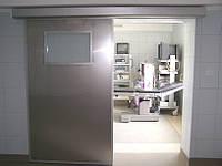 Медицинские автоматические раздвижные двери, фото 1