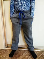 Детские теплые спортивные штаны на мальчика