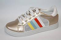 Подростковая спортивная обувь. Кроссовки для девочек от фирмы Dual 566-7 (10пар, 36-41)