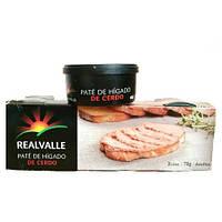 Паштет из свиной печени (Realvalle), 78 г