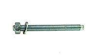 Анкерная шпилька VA-A 16х165 с гайкой, шайбой, насадкой под дрель, упак - 10 шт, Швеция