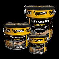 Аквамаст Мастика битумно-резиновая для кровли (10 кг)
