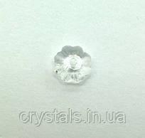 Пришивные цветочки Preciosa (Чехия) Crystal U 6 мм