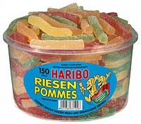 Картофель Фри Харибо  Riesen Pommes Haribo Харібо конфеты 1000гр 150шт.