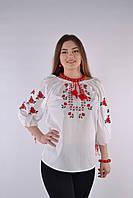Традиционная женская вышиванка от производителя (хлопок)