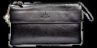 Мужской клатч-барсетка Langsa черного цвета JAK-000221