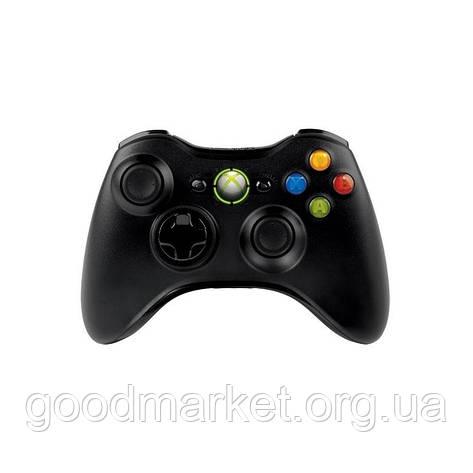 Геймпад Microsoft Xbox 360 Wireless Controller Black (NSF-00002), фото 2
