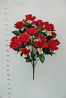Роза открытая+бутон раскрытый+веточка нарциссов