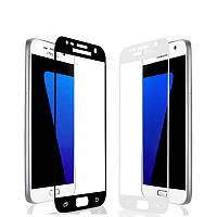 Защитное стекло для Samsung Galaxy J5 Prime G570f (прайм) черное и белое