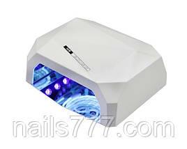 Лампа гибридная для маникюра LED+CCFL 36 Вт, в ассортименте, фото 3