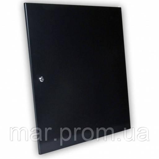 Двери цельнометаллические 18U к шкафам , черная