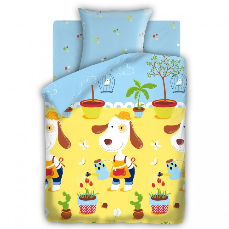 Детский постельный комплект «Садовник», Непоседа