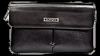 Мужской клатч-барсетка Langsa черного цвета JAK-885281