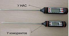 Цифровой кухонный термометр - большой циферблат качество
