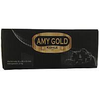"""Кокосовый уголь для кальяна """"Amy Gold"""" Ами Голд 1кг."""