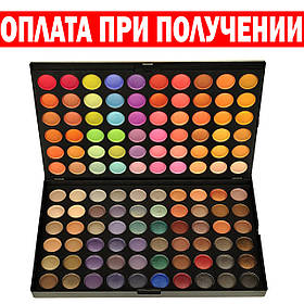 Профессиональная теплая палитра теней –120 оттенков тени палетка для макияжа  реплика