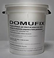 Водоразбавляемый акриловый грунт-фиксатив для наружных и внутренних работ DOMUFIX 1л