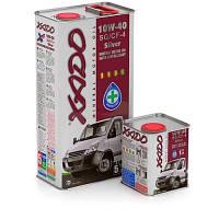 Моторное масло XADO Atomic Oil 10W-40 SG/CF-4 Silver (ж/б  1 л)