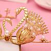 Тиара диадема АМИНА корона модная красивая модные украшения для волос тиары, фото 4
