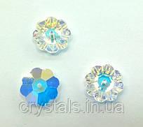 Пришивные цветочки Preciosa (Чехия) Crystal AB