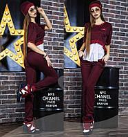 """Женский спортивный костюм с шапкой """" Chanel """" Dress Code"""