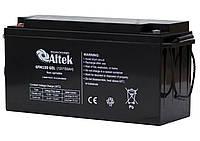 Гелевый аккумулятор Altek 6FM150GEL