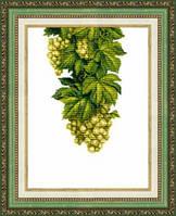 """Набор для вышивания крестом Crystal Art  """"Янтарный виноград"""""""