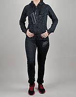 Женский спортивный костюм Nike 7186 Чёрный