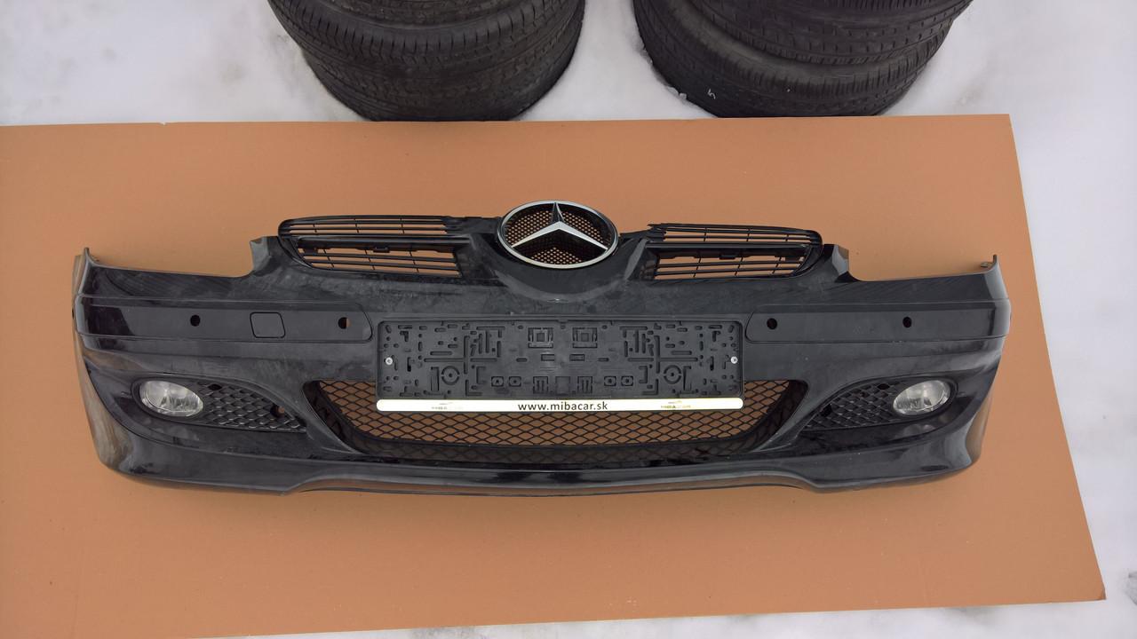 Передний бампер Mercedes SLK W171 (2005год, б/у)