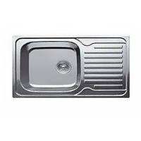 Врезная мойка для кухни Haiba прямоугольная  780*430 (сатин) матовая