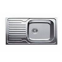 Врезная мойка для кухни Haiba прямоугольная  780*430 (декор)