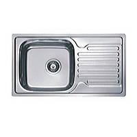 Врезная мойка для кухни Haiba прямоугольная  780*500 (сатин) матовая
