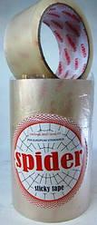 Скотч упаковочный Spider 50м, ширина 46мм.