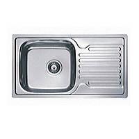 Врезная мойка для кухни Haiba прямоугольная  780*500 (декор)