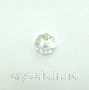 Пришивные цветочки Preciosa (Чехия) Crystal Argent Flare 6 мм